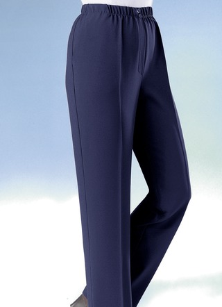 Broek in pull-on model in 9 kleuren