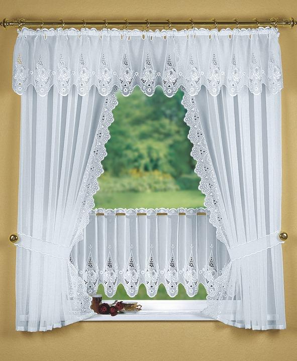 Fensterdekoration In Verschiedenen Farben Gordijnen Bader
