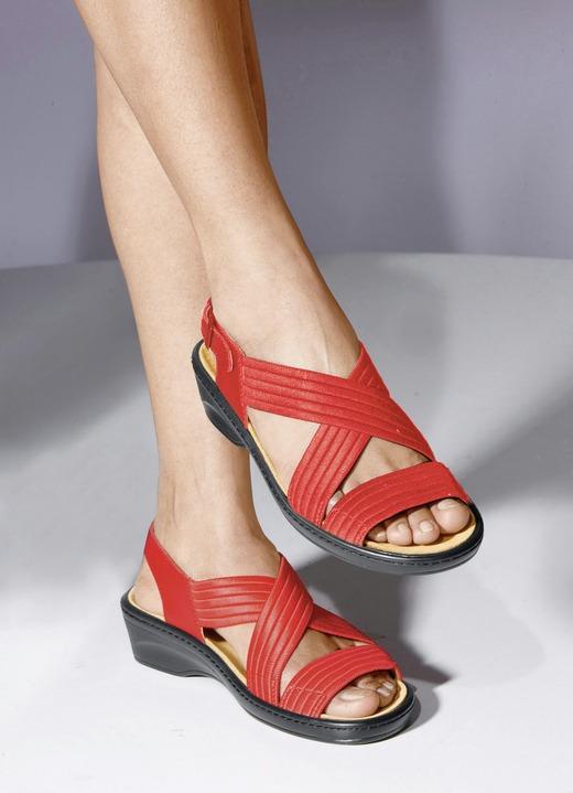 In Farben Stretch Verschiedenen Sandalette Bequem SUMqVpGz