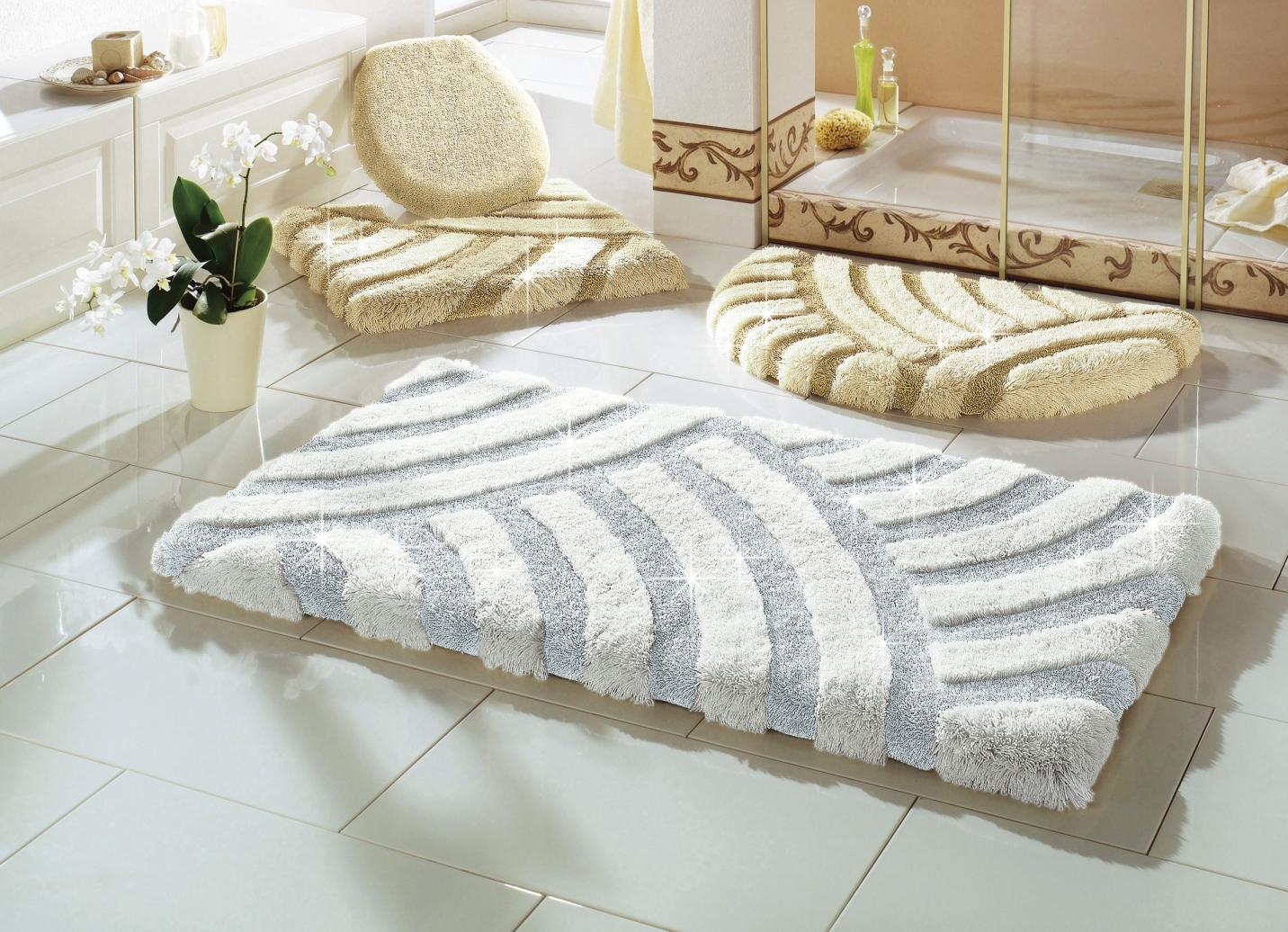 confetti badgarnitur in verschiedenen farben badmatten. Black Bedroom Furniture Sets. Home Design Ideas