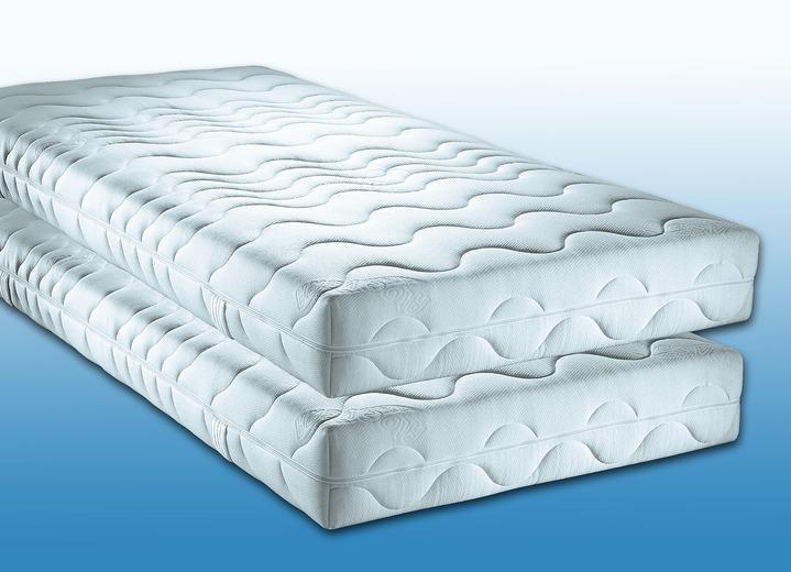 7 zonen matratzen 2er set verschiedene ausf hrungen matrassen topper bader. Black Bedroom Furniture Sets. Home Design Ideas