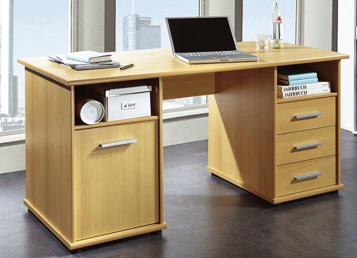 Schreibtisch in verschiedenen farben bureaumeubels bader for Schreibtisch buchefarben