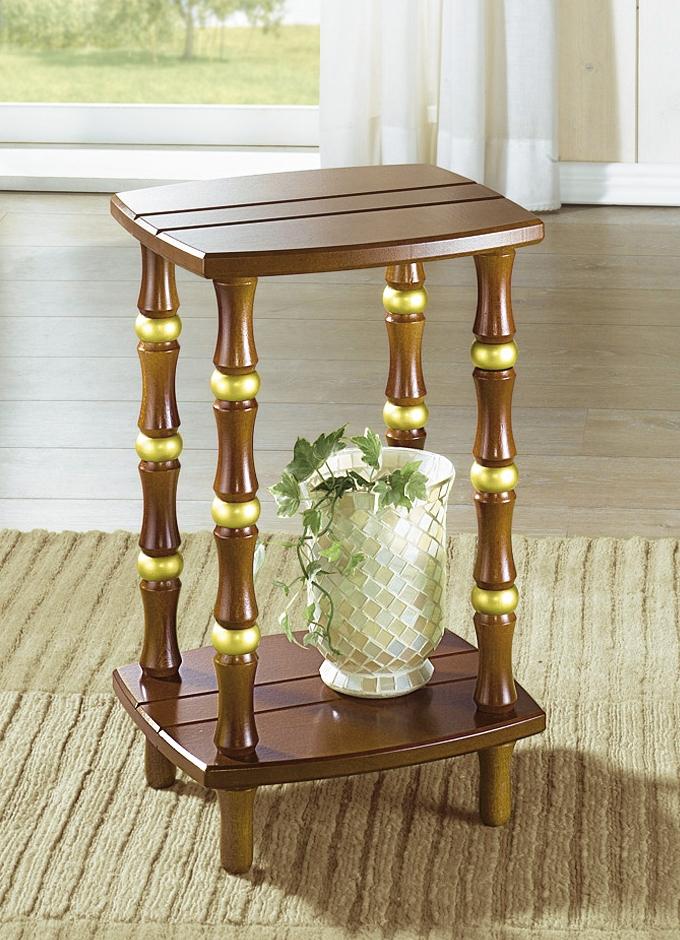 kleiner beistelltisch in verschiedenen farben rustieke. Black Bedroom Furniture Sets. Home Design Ideas