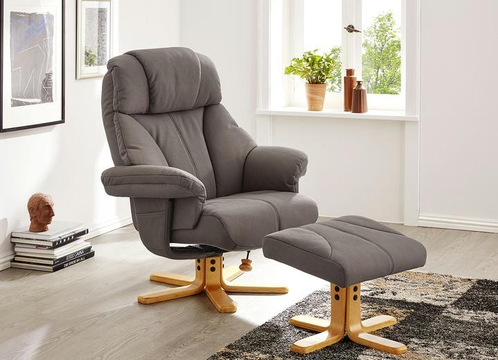 Relax Tv Fauteuils.Relax Sessel Mit Hocker In Verschiedenen Farben