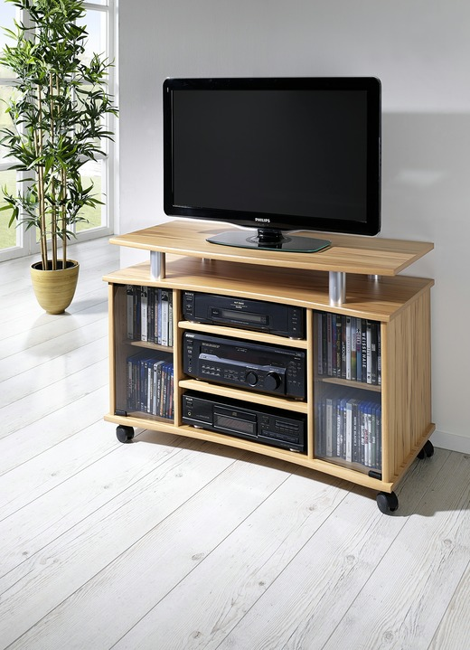 tv rack in verschiedenen farben tv hifi meubels bader. Black Bedroom Furniture Sets. Home Design Ideas