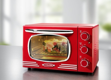 Backofen im Retro-Design