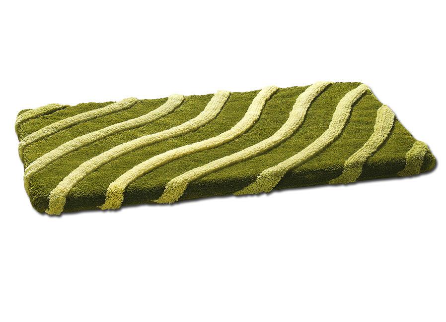 kleine wolke badgarnitur mit wellen motiv verschiedene farben badmatten bader. Black Bedroom Furniture Sets. Home Design Ideas