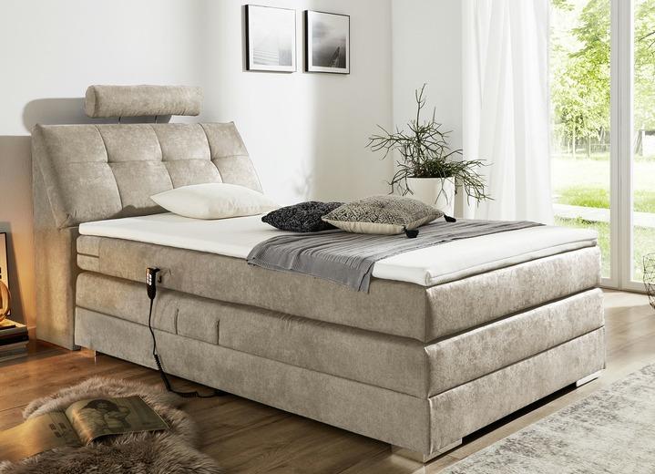motor boxspringbett in verschiedenen ausf hrungen bedden bader. Black Bedroom Furniture Sets. Home Design Ideas