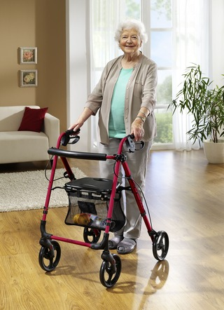Alu-Rollator Actimo Light