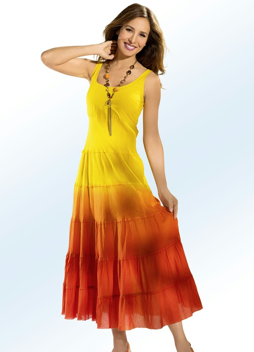 Jurken - Kleid in Batik-Optik, in Größe 036 bis 052, in Farbe 03b28774b6