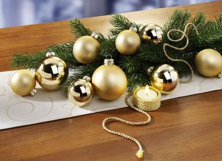 christbaumschmuck aus glas weihnachtskugeln bei bader. Black Bedroom Furniture Sets. Home Design Ideas
