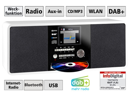 Imperial Dabman i200CD Digital-Radio mit CD