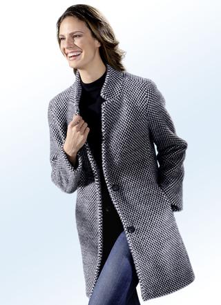 Wollen mantels voor dames kopen | BADER