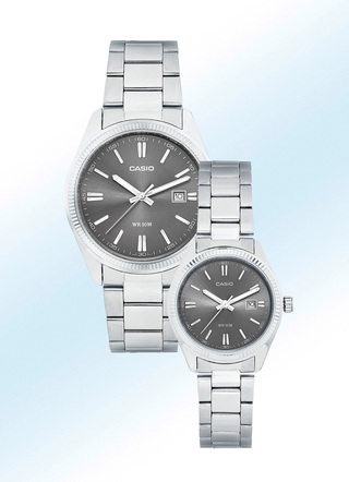 Schicke Casio Quartz-Partneruhren