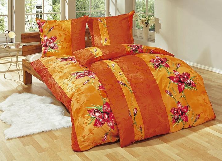 bettw sche garnitur 6 teilig verschiedene farben beddengoed bader. Black Bedroom Furniture Sets. Home Design Ideas