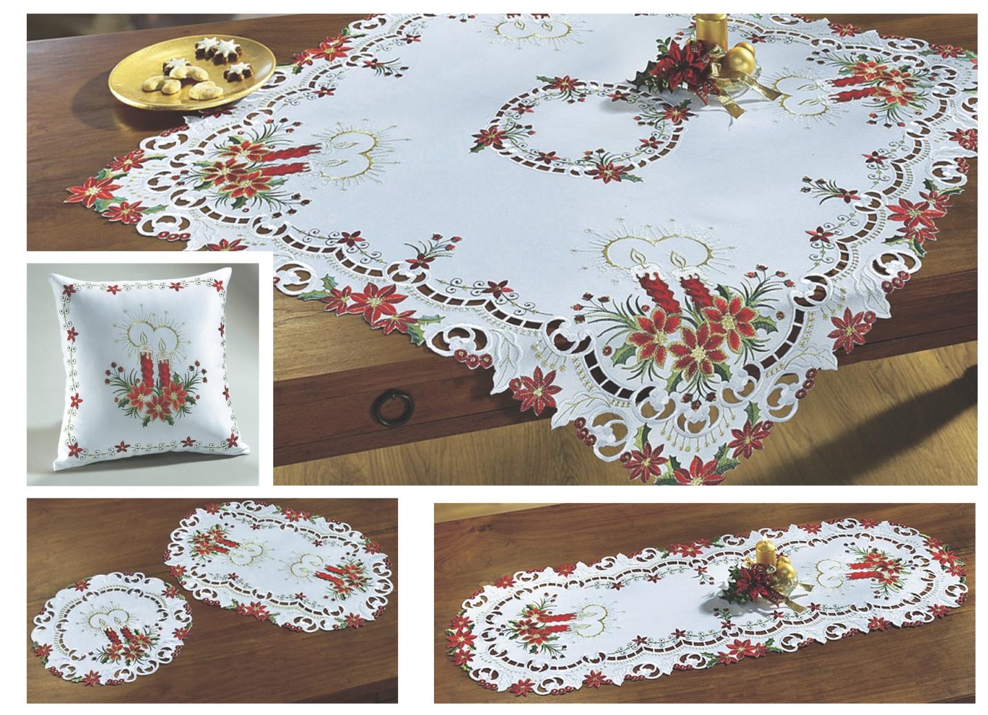 Tisch und raumdekoration tafellakens bader - Bader weihnachten ...