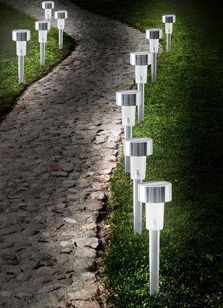 Solar-Wegbeleuchtung: umweltfreundlich, sicher und wunderschön