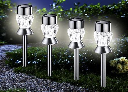 Solar Lampen Tuin : Solar wegbeleuchtung umweltfreundlich sicher und wunderschön